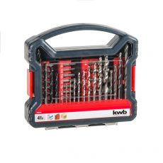 109104-KWB POWER-BOX STANDARD bit, fúrószár klt.  41 db-os