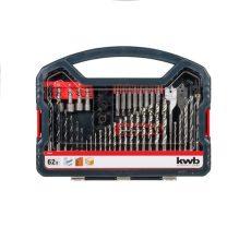 109106-KWB POWER-BOX STANDARD bit, fúrószár klt.  61 db-os